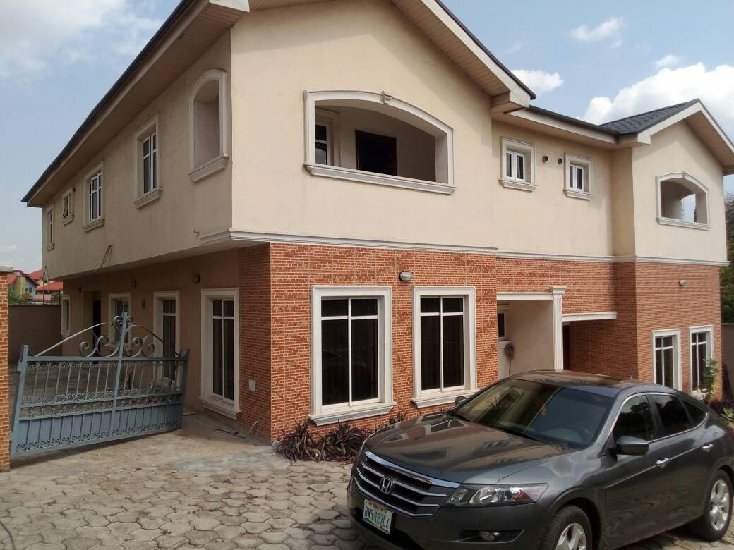 For Sale: 2 Wing Nicely Finished 5 Bedroom Semi-Detached Duplex with a BQ